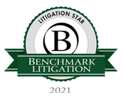 Benchmark Litigation Star 2021