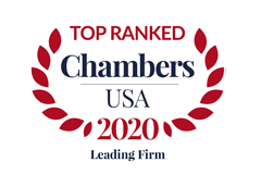 Ranked as a Chambers USA Leading Firm 2020