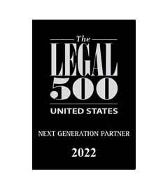 Listed as a Next Generation lawyer in the US Legal 500