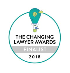 Litera's The Changing Lawyer Awards Finalist 2018