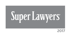 Named a 2017 Superlawyer