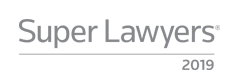 Listed as SuperLawyer 2019