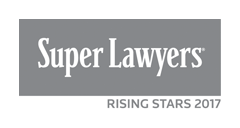 named a 2017 Superlawyer Rising Star