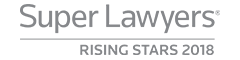 Selected as a SuperLawyer Rising Star 2018