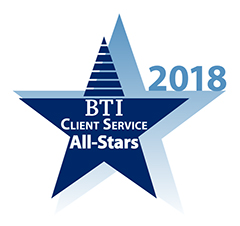Steven J. Axtell has been recognized by The BTI Consulting Group, as a 2018 BTI Client Service All-Star.