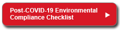 Post-COVID-19 Environmental Compliance Checklist
