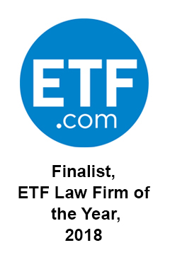 Thompson Hine was selected as a finalize for the ETF Law Firm of the Year 2018