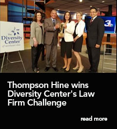 Thompson Hine wins Diversity Center's Law Firm Challenge