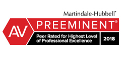 Martindale-Hubbell Preeminent Rating