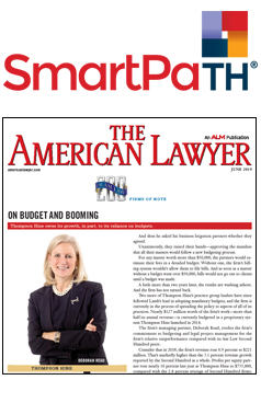 The American Lawyer - On Budget and Blooming