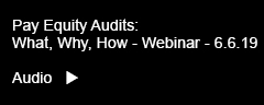 Thompson Hine Pay Equity Audits: What, Why, How – Webinar Audio