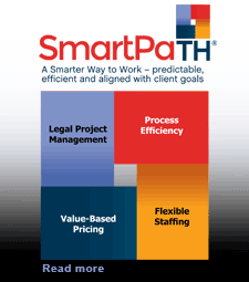 Thompson Hine SmartPaTHSM — a smarter way to work — predictable, efficient and aligned with client goals.