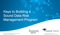Keys to Building a Sound Data Risk Management System