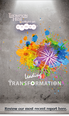 Thompson Hine Spotlight on women Report - Leading Transformation