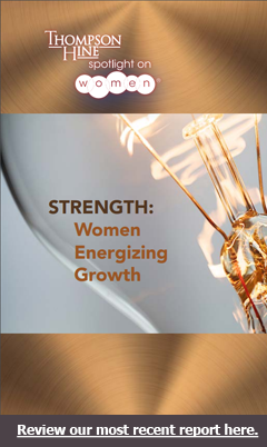 Thompson Hine's Spotllght on Women Report 2018 - Strength: Women Energizing Growth