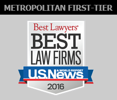Thompson Hine receives 2016 metropolitan first-tier ranking